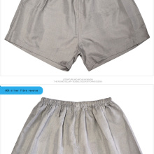 Underwear Man SHD016 Shorts Silver-Fiber Anti-Radiation Xxxl-Size