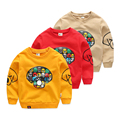 Child pullover sweatshirt baby spring and autumn top all-match children's clothing 2017 spring male child cartoon outerwear