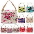 Lunch Bag Flower Camouflage Portable Zipper Lunch Box Carry Bag High Quality Picnic Storage Bag Bolsa Termicas Para Almoco #6215