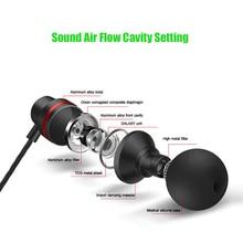 New Universal 3.5mm fone de Ouvido Estéreo Fones de Ouvido de Metal Fone De Ouvido Com Microfone para LG K7 X210ds
