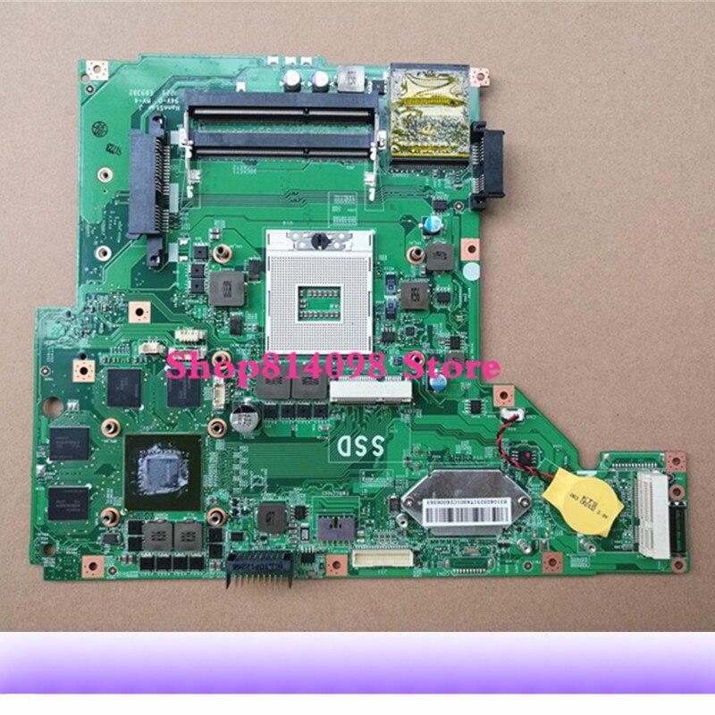 Carte Mère d'ordinateur portable MS-16GA Pour MSI GE60 MS-16GA1 Carte Mère DDR3 N13E-GE-A2 100% testé