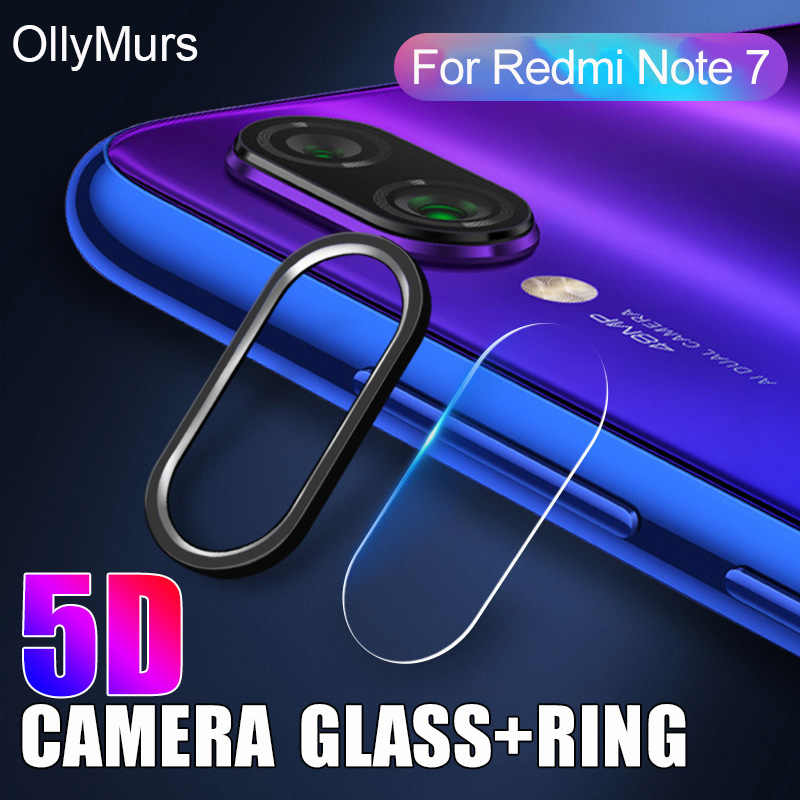 Camera Protector Case On For Xiaomi Redmi Note 7 K20 Pro Cover Metal Phone Lens Glass Film & Guard Bumper Protection Ring Case