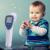 Dt-8836 sin contacto de la frente Termómetro Infrarrojo Backlight LCD Digital Termómetro Infrarrojo de La Frente para Bebés y Niños Niños