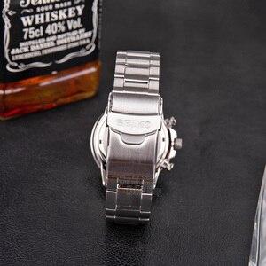 Image 3 - Seiko zegarek mężczyźni top luksusowa marka wodoodporny zegarek sportowy zegarek solarny Chronograph zegarek kwarcowy mężczyźni Relogio Masculino SSC009