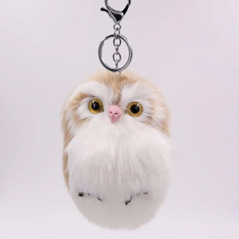RE-Cute-Pompom-Owl-Keyrings-Keychains-Faux-Rabbit-Fur-Pompom-Fluffy-Trinkets-Car-Handbag-Pendant-Key (4)