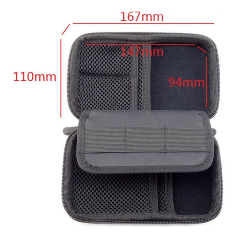 Portable Mini Electronic Product Storage Bags Anti-Shock Digital Accessories Hard Drive Organizer Storage Bag Pouch Home Storage
