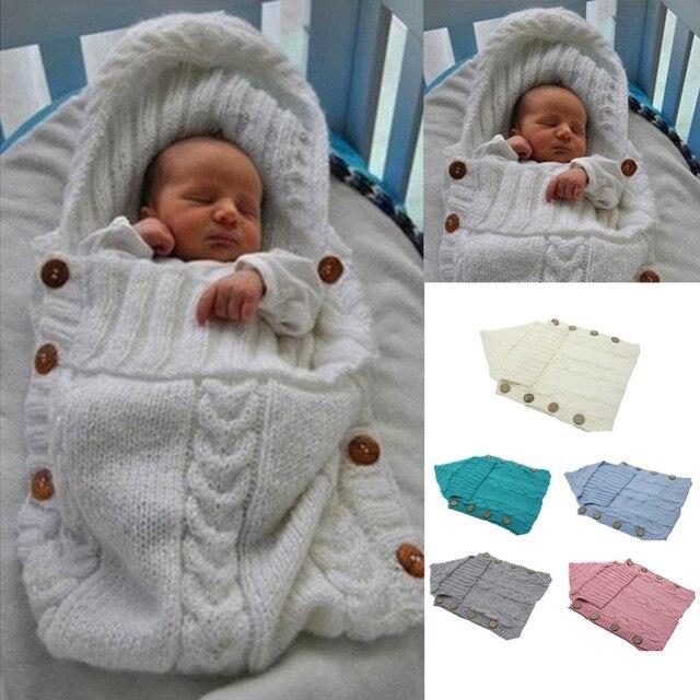 b59e3b81a15f Soft Newborn Baby Toddler Swaddle Infant Wrap Sleep Sack Sleeping ...