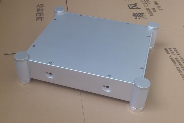 QUEENWAY Audio NEW3607T CNC Full aluminum Case chassis pre amplifier 362mm*86mm*322mm 362*86*322mm queenway hifi class pass xa 30 5 hi end full aluminum amplifier chassis case box 430mm 430mm 170mm 430 430 170mm