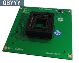 QBYYY Original et véritable XELTEK PLCC68 ZIF adaptateur de prise CX2068