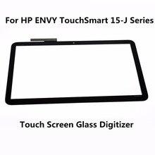"""Nuevo 15.6 """"pantalla táctil lente de cristal digitalizador de pantalla para hp envy touchsmart 15-j serie j053cl 15-j080ez 15-j063cl 15-j067cl 15-j173cl"""