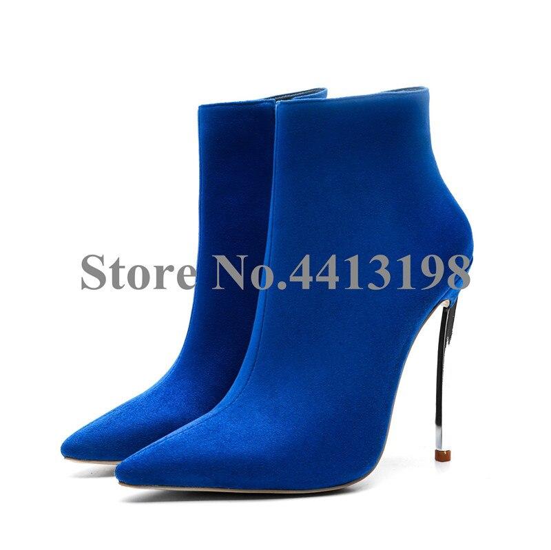 Zip Haute Chaussures Bout automne Super Pointu Bottes Femmes Printemps Picture Cheville Nouveau Cm Pour 12 Mince Européenne As Femme Mode Talons Picture Rouge as xqOwWXaCT