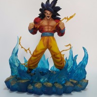 Dragon Ball Z Action Figures Son Goku Super Saiyan 4 Resin 330MM Collectible Model Toy Anime Dragon Ball Z Resine DBZ