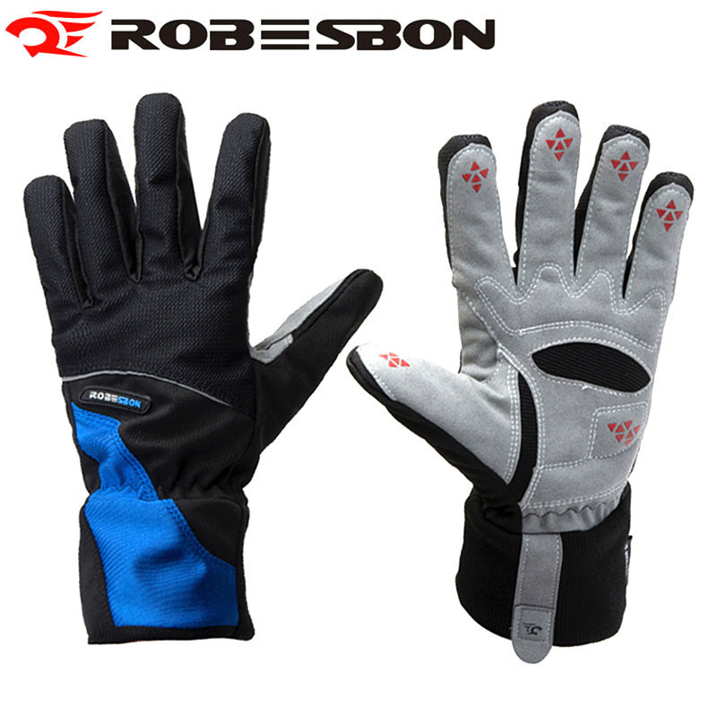Apparel Accessories Top Sale Womens Gloves Men Gel Full Finger Cycling Mtb Bike Glove Bicycle Winter Guantes Sport Breathable Foxes Mittens Jh0004
