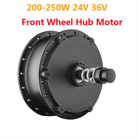 New Band 24V 36V 200 250W Brushless Gear Front Wheel Hub Motor 16''20''26''28'' For Electric Bicycle Conversion Kit Bike Changer