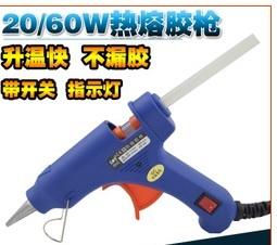 Melhor promoção 20 W 100-240 V Professional Mini Elétrico Aquecimento Hot Melt Glue Gun Com 10 PCS Cola varas