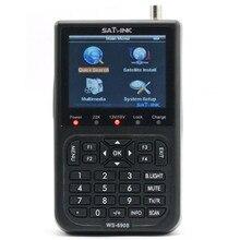 [Genuine] SATLINK WS-6908 Satellite TV Receiver Meter DVB-S FTA Digital Satellite Signal Finder 3.5 inch LCD Screen Support QPSK