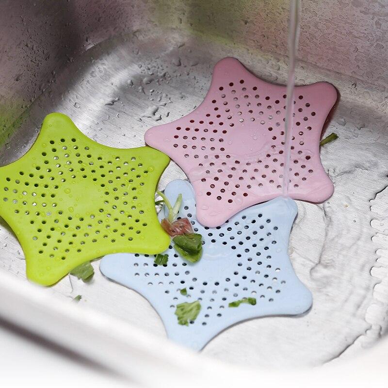 1PC Multi-Color Kitchen Dishwasher Drain Filter Bathroom Sink Anti-Clogging Floor Appliances Accessories