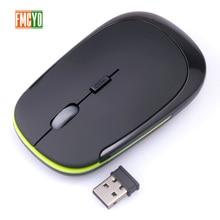2,4 ГГц Беспроводная оптическая игровая мышь новая игровая беспроводная мышь с usb-приемником Mause для ПК Игр