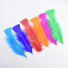 20Pcs/Lot Pheasant Feather Turkey Feathers for Crafts 13-18cm/5-7inch Wedding Jewelry Making Black white feathers