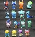 16pcs/set Slugterra Action Figures Toys Anime Cartoon Slugterra Toys Slugs Children Kids Gift 4.5-5cm
