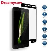 Dreamysow Volle Abdeckung Gehärtetem Glas Für Nokia 6 5 3 Gehärtetem Für Nokia6 3 8 7 5 2 screen Protector Sicherheit Film