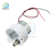 DC 12V Electric Brushless DC Motor High Torque Gear Motor Geared Box S30K Reduction Motor 14RPM 2 Wires for Electronic Toys Fan