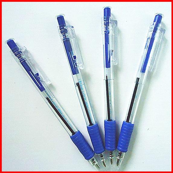 2pcs/lot cheap pen ballpoint pen blue ballpoint pen general pen free  shipping