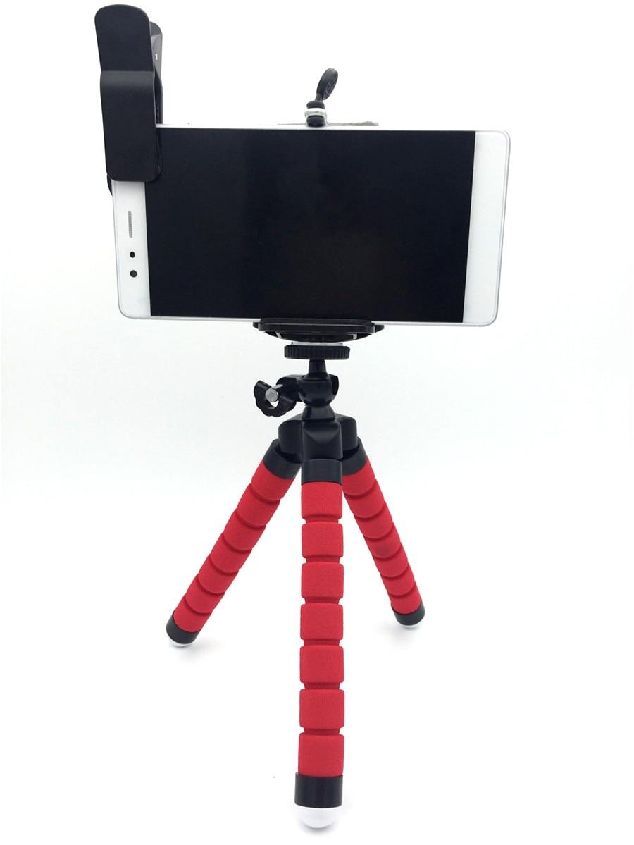Univesal New 5in1 8X Zoom Phone Camera Lens Telescope with Flexible Tripod 3in1 lens Fisheye Lens Wide Lens Macro for smartphone 23
