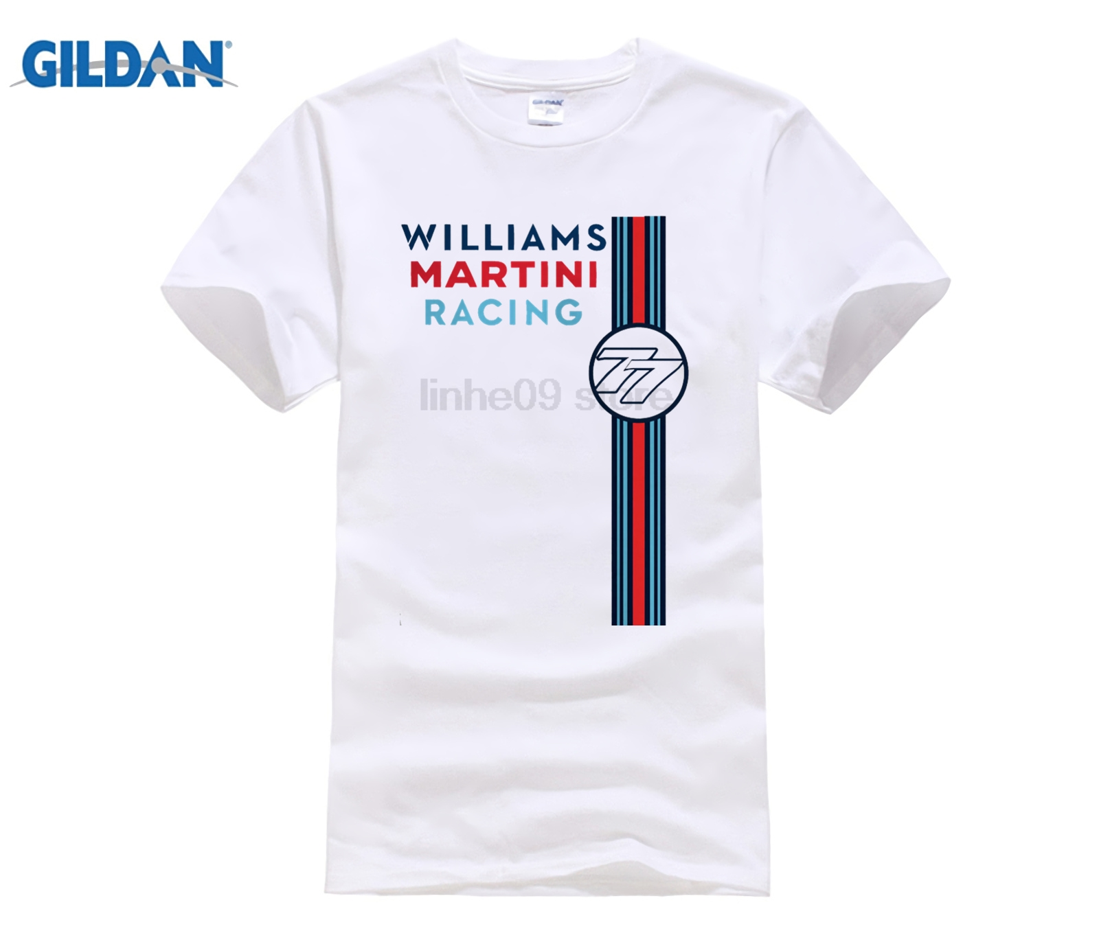 6e21fc8375956 2019 caliente de verano de los hombres T camisa moda película Williams  Martini Racer 2015 Bottas