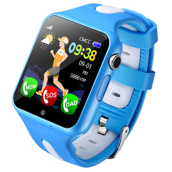 New Watch Tracker For Kids Support SIM Card Safety Monitoring Quick Call Safe Clock Emergency Security Waterproof Smartwatch