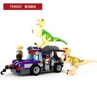 Fun Children Toy Blocks World Dinosaur Tyrannosaurus Compatible Legoes Assembly Model Of Intellectual Education Blocks Toys