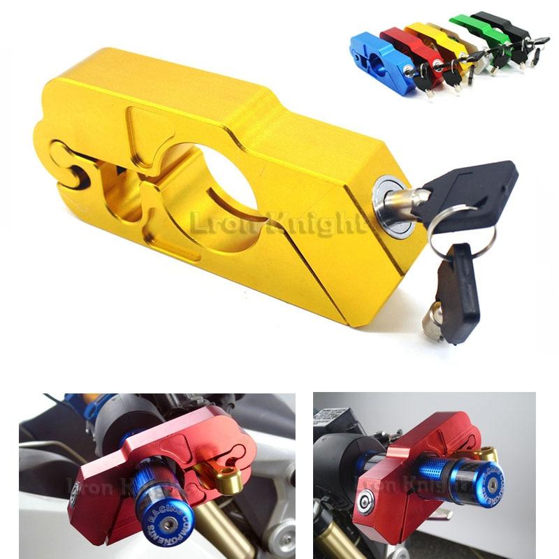 For YAMAHA MT-07 MT-09 MT-10 MT-25 FZ-09 FZ 07 Motorcycle Handlebar Lock ATV Brake Clutch Security Safety Theft Protection Locks