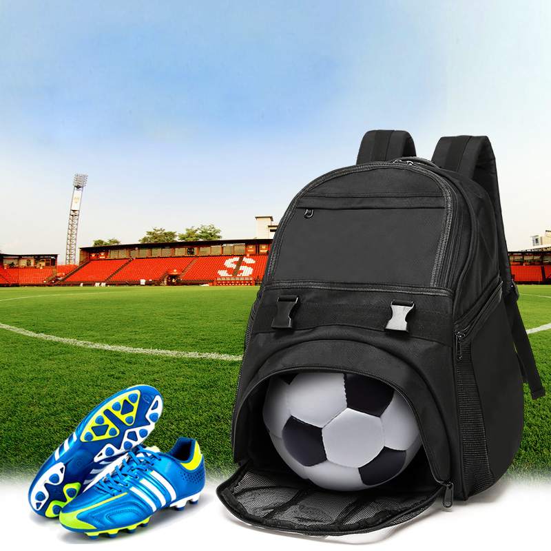 Outdoor Sports Shoulder Bag Team Backpack With Basketball Volleyball Football Soccer Pocket Gym Training Duffel Bags 30 2008 donruss sports legends 114 hope solo women s soccer cards rookie card