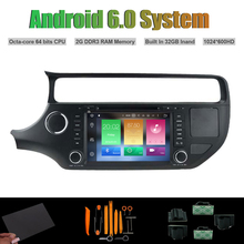 Android 6 0 Octa core CAR DVD PLAYER for KIA RIO 2015 Car font b Radio