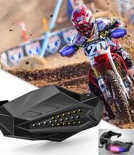 Motorcycle Handguard Baffle Waterproof Windproof Motocross Grip Protection  Universal Windshield Hood Cross-country handlebar