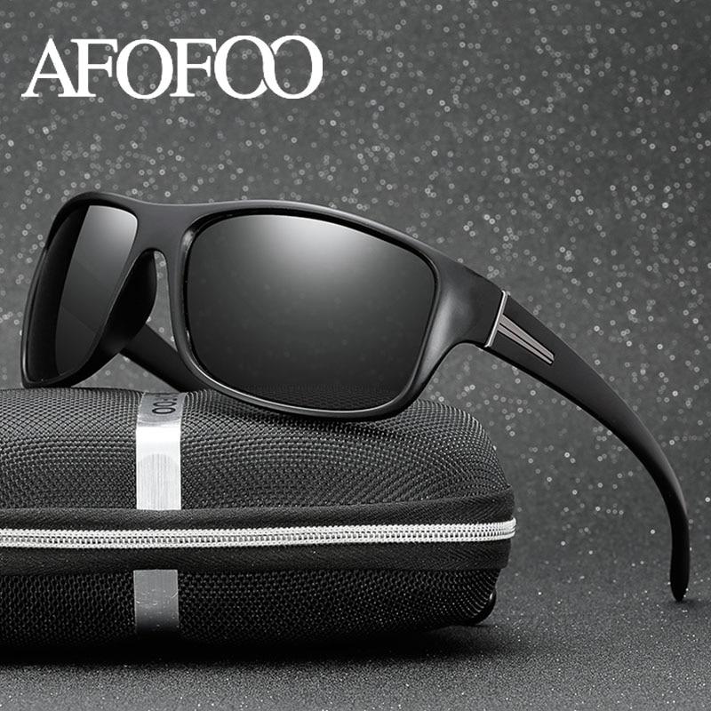 AFOFOO Polarized Sunglasses Men