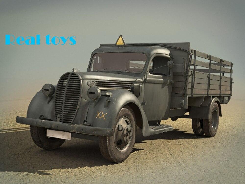 Arrivialใหม่! ICMรุ่น35413 1/35 G917T (1939การผลิต),กองทัพเยอรมันรถบรรทุกพลาสติกโมเดล