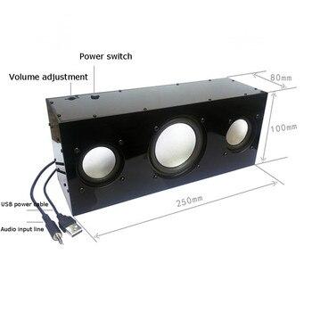 لتقوم بها بنفسك USB مكبر صوت ستيريو مجموعة الإنتاج تيار مستمر 5 فولت الثقيلة باس 2.1 قناة الصوت النشط معدات إنتاج مكبر الصوت الصغيرة