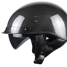 цена на motorcycle helmet half face helmet helmet vintage retro cascos para moto Scooter,Cruiser,Chopper