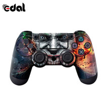 Gamepad Handle Personality Stickers To Prevent Scratches Apply To SONY Playstation 4 PS4 Dualshock 4 Controller Skin(China)