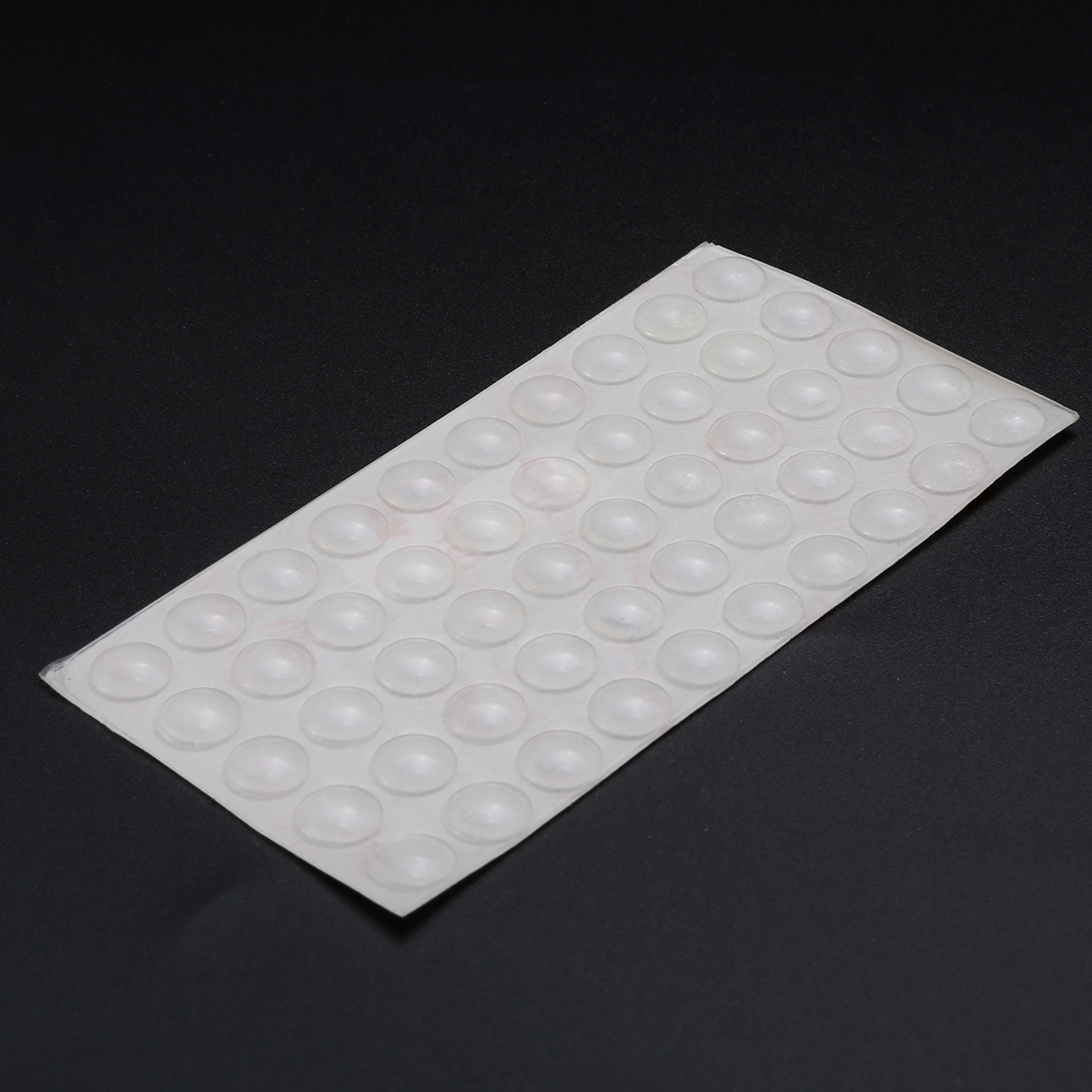 50Pcs/set Self Adhesive Rubber Feet Pads Clear Cupboard Door Close Silicone Buffer Bumpe ...