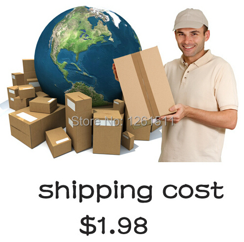 If Your order is less than $10 ,pls pay shipping cost $1.98, so we can send out by Epackge or China Post Registered Air mail