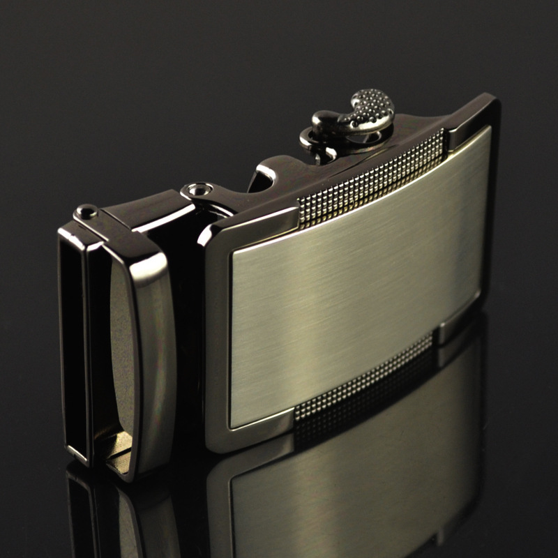 New Genuine Men's Belt Head, Belt Buckle, Leisure Belt Head Business Accessories Automatic Buckle Width 3.5CM LY187068