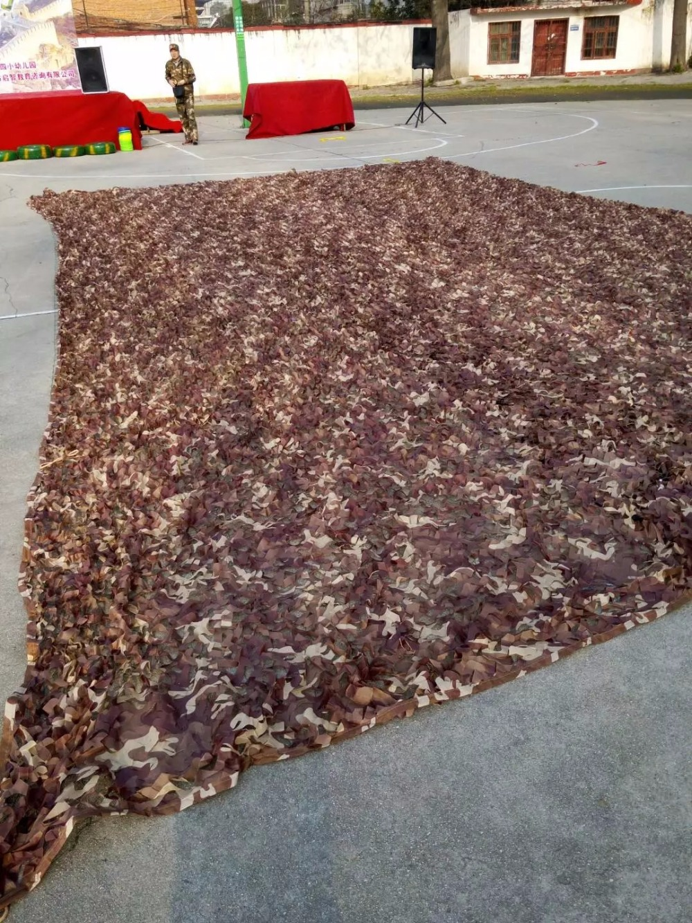 1 5X5M Military Desert Camouflage Net Autumn Leaves Camo netting for Camping Hunting car Camo cover