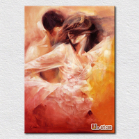 Modern hot sexy photo textured canvas arts nude woman oil painting for bedroom wall decoration