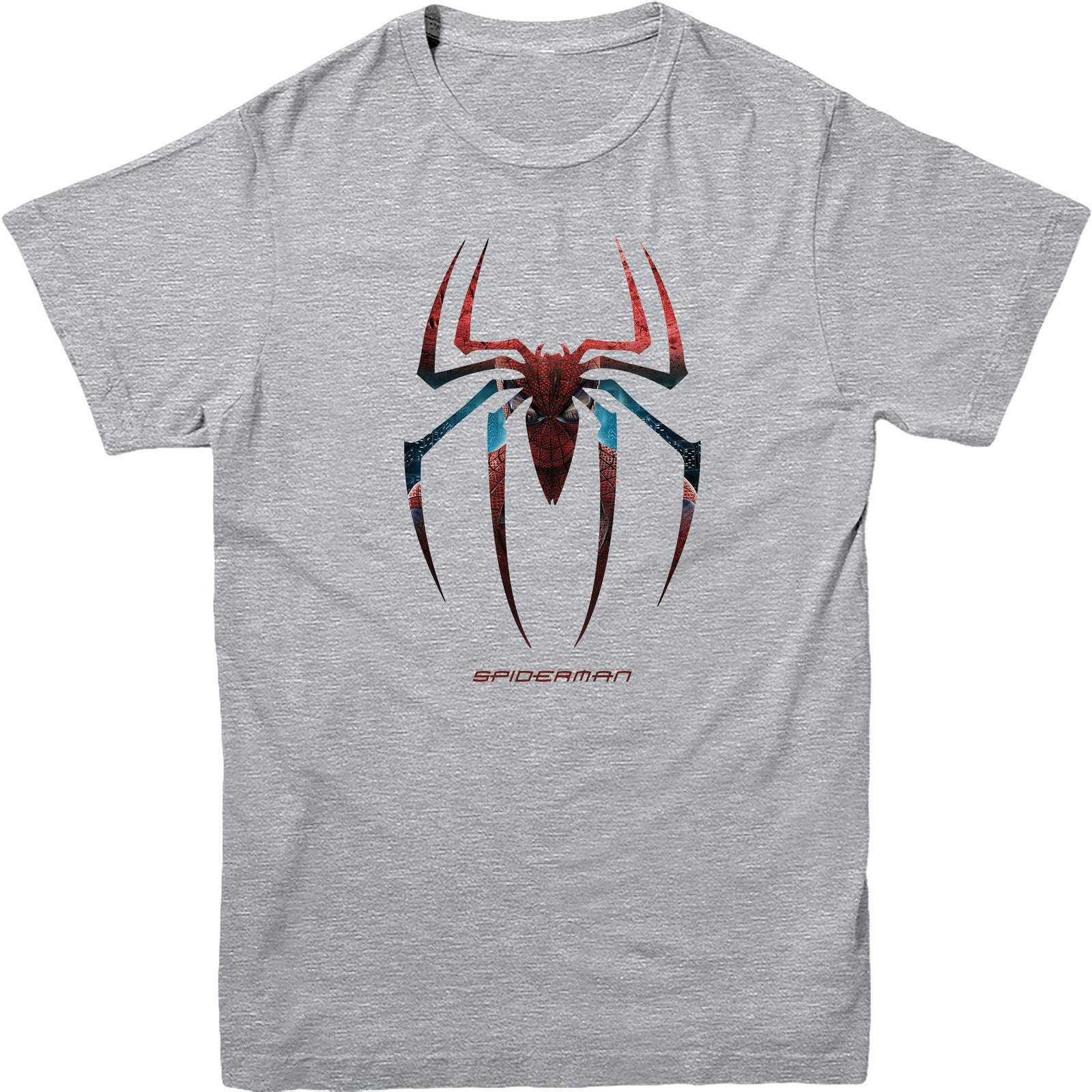 Spiderman Logo T Shirt Web Marvel Comics Superheroes SPIDERMAN Gift Cotton Loose Short Sleeve Mens Shirts In From Clothing On