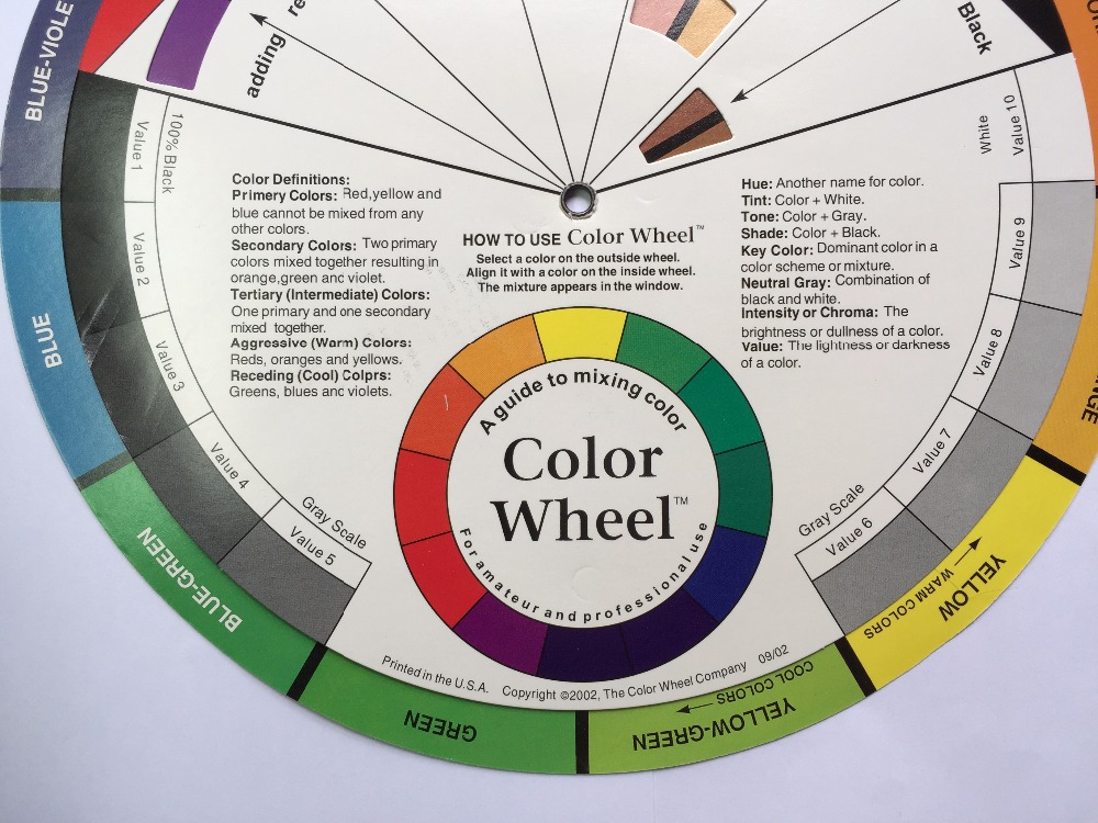 how to use a color wheel for makeup