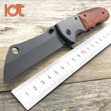 LDT Butcher Folding Knife 8Cr13Mov Blade G10 Handle Camping Survival Hunting Knives Outdoor Tactical Utility Knife EDC Tool