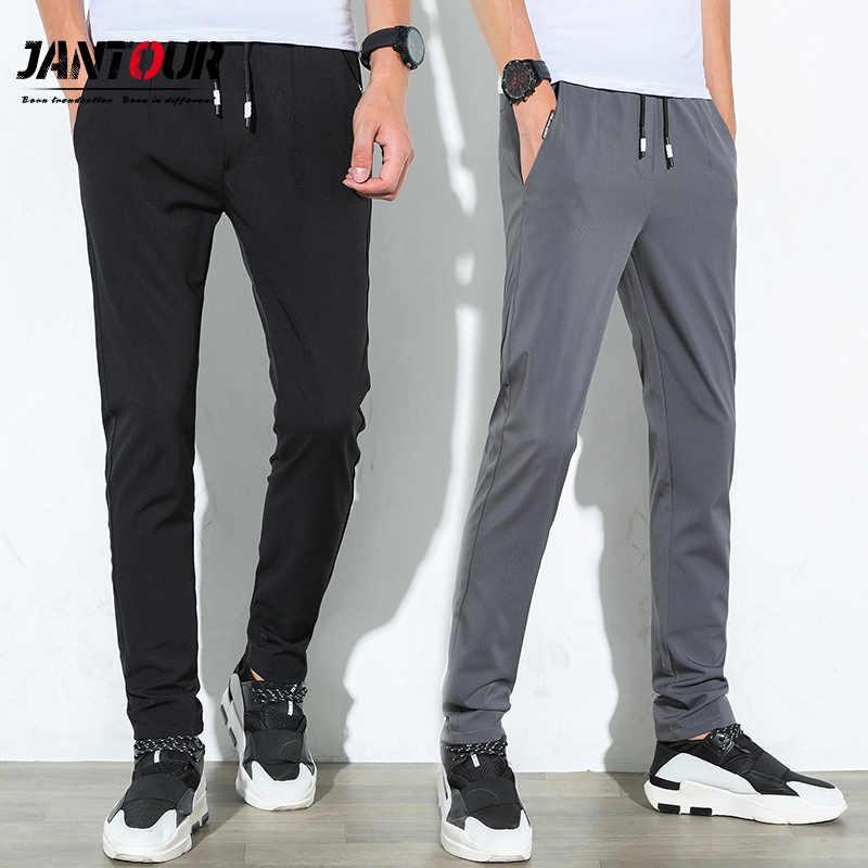 4f4e1456c289 Повседневное для мужчин пот штаны мужские хлопковые Спортивная мотобрюки  прямые брюки для