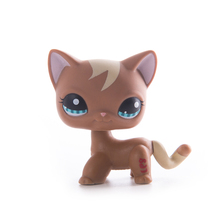Lps old collection cat Pet Shop Lps free shipping Toys Short Hair Cat Action Standing Figure Cosplay Toys Children Best Gift цена 2017
